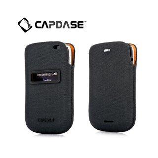 【ポケットタイプケース】 CAPDASE BlackBerry Bold 9900/9930 ID Pocket Posh  Black/Orange