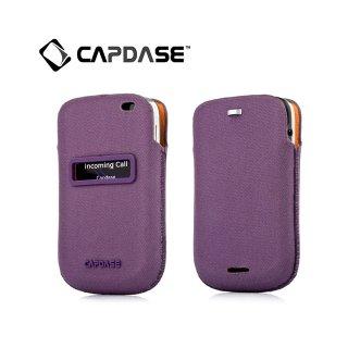 【ポケットタイプケース】 CAPDASE BlackBerry Bold 9900/9930 ID Pocket Posh  Purple/Orange