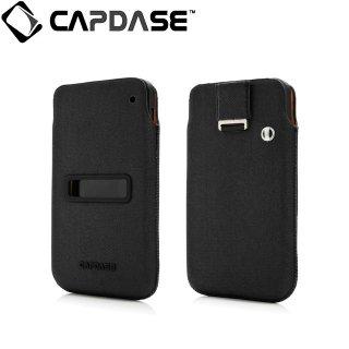 【ソフト&ポケットケースのセット】 CAPDASE BlackBerry Z10 Value Set Posh  Solid Black/Black