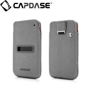 【ソフト&ポケットケースのセット】 CAPDASE BlackBerry Z10 Value Set Posh  Solid Grey/Grey
