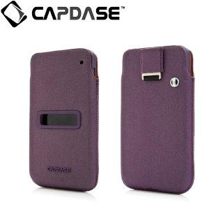 【ソフト&ポケットケースのセット】 CAPDASE BlackBerry Z10 Value Set Posh  Solid Dark Purple/Purple