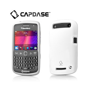 【アルミとシリコンの2層構造ケース】 CAPDASE BlackBerry Curve 9350/9360/9370 Alumor Metal Case  White