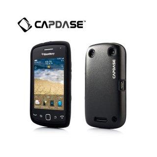 【アルミ合金とシリコンの2層構造ケース】 CAPDASE BlackBerry Curve 9380 Alumor Metal  Black