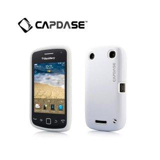 【アルミ合金とシリコンの2層構造ケース】 CAPDASE BlackBerry Curve 9380 Alumor Metal  White