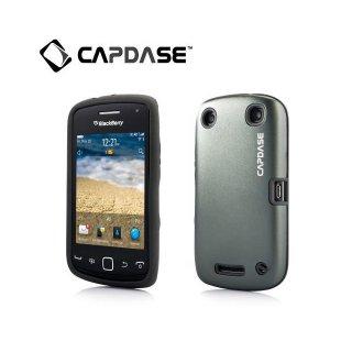 【アルミ合金とシリコンの2層構造ケース】 CAPDASE BlackBerry Curve 9380 Alumor Metal  Grey