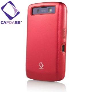 【アルミ合金とシリコンの2層構造ケース】 CAPDASE BlackBerry Storm2 9520/9550 Alumor Case  Mahogany