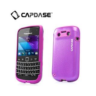 【アルミ合金とシリコンの2層構造ケース】 CAPDASE BlackBerry Bold 9790 Alumor Metal Case  Purple