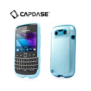 【アルミ合金とシリコンの2層構造ケース】 CAPDASE BlackBerry Bold 9790 Alumor Metal Case  Light Blue