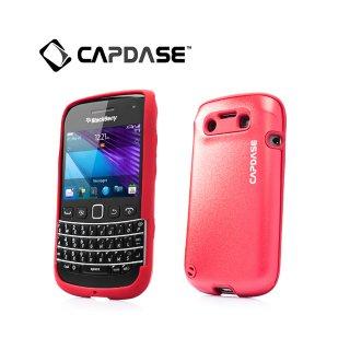【アルミ合金とシリコンの2層構造ケース】 CAPDASE BlackBerry Bold 9790 Alumor Metal Case  Mahogany