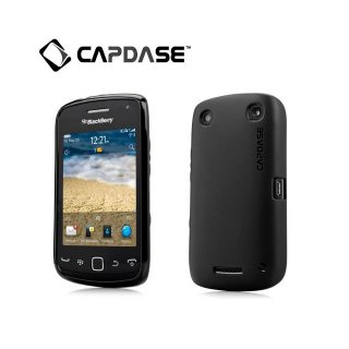 【定番のソフトケース】 CAPDASE BlackBerry Curve 9380 Soft Jacket 2 XPOSE  Solid Black