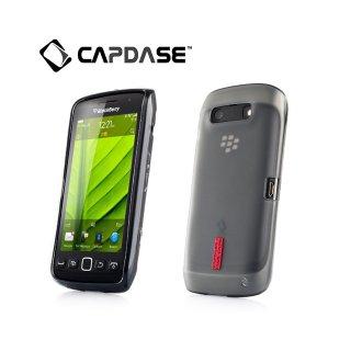 【定番のソフトケース】 CAPDASE BlackBerry Torch 9850/9860 Soft Jacket 2 XPOSE  Black