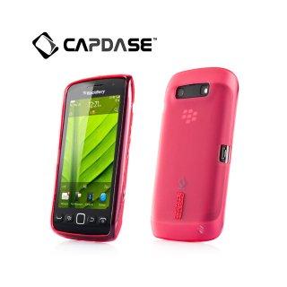 【定番のソフトケース】 CAPDASE BlackBerry Torch 9850/9860 Soft Jacket 2 XPOSE  Red