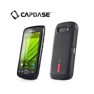 【定番のソフトケース】 CAPDASE BlackBerry Torch 9850/9860 Soft Jacket 2 XPOSE  Solid Black