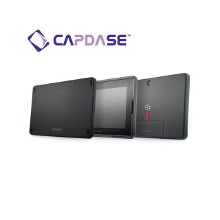 【定番のソフトケース】 CAPDASE BlackBerry PlayBook/PlayBook 4G LTE Soft Jacket 2 XPOSE  Clear Black