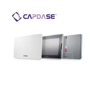 【定番のソフトケース】 CAPDASE BlackBerry PlayBook/PlayBook 4G LTE Soft Jacket 2 XPOSE  Clear White