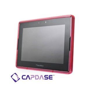 【定番のソフトケース】 CAPDASE BlackBerry PlayBook/PlayBook 4G LTE Soft Jacket 2 XPOSE  Clear Red