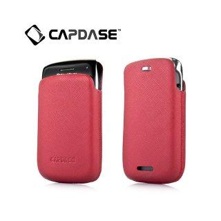 【ポケットタイプケース】 CAPDASE BlackBerry Bold 9790 Smart Pocket Luxe  Red/Black