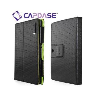 【スタンド機能付きケース】 CAPDASE BlackBerry PlayBook/PlayBook 4G LTE FolioDot  Black/Green