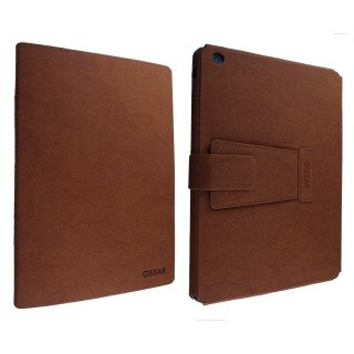 【スタンド機能つきケース】 GISSAR iPad mini 3/2/1 Ares Case  Brown