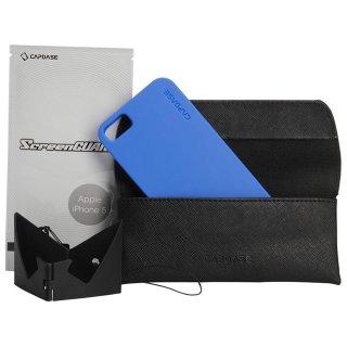 【定番のソフトケース】 CAPDASE iPhone SE/5s/5 用 Soft Jacket 2 XPOSE  Solid Blue