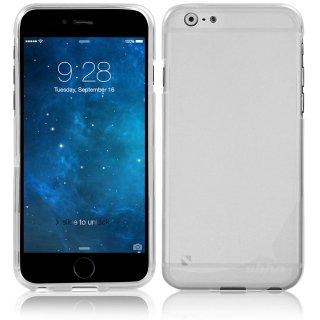 【iPhone6s Plus/6 Plus ケース やわらかく ハリのある 半透明 TPU素材製】 ahha Gummi Shell Case MOYA  Clear