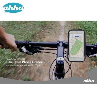 【自転車用簡易防水スマホホルダー】 ahha Bike Stem Phone Holder-S