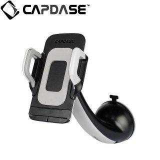 【スマートフォン用車載フォルダー】CAPDASE Car Mount Flexi カーマウント・フレクシー ホワイト/ブラック