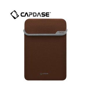 【柔らかい素材のスリーブケース】 CAPDASE 10インチタブレット対応 ProKeeper Slipin Shell  Brown/Black