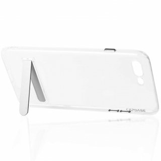 【iPhone7 Plus ケース ソフトタイプ スタンド付き】 CAPDASE iPhone 7 Plus 専用 Soft Jacket Viewer  Clear