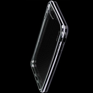 【iPhone7 ケース おしゃれなソフトタイプ】 CAPDASE iPhone 7 専用 Soft Jacket Verge  Clear/Silver ソフトジャケット