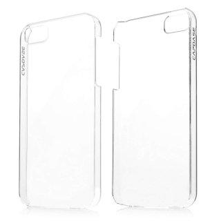【薄くて透明なハードケース】 CAPDASE iPhone SE/5s/5 Karapace Protective Case Finne DS  Clear