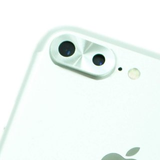 【iPhone8 Plus/7 Plusのカメラレンズを保護!】GauGau iPhone8 Plus / 7 Plus Camera lens Cap Silver