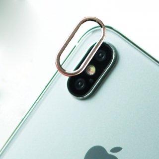 【iPhoneXのカメラを保護!】GauGau iPhoneX Camera Lens Protector Silver
