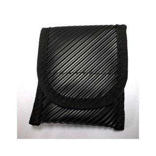 【丈夫なスリーブタイプケース】 GauGau Universal Mobile Pouch Ver. 2.0  Urethane-Nylon Black