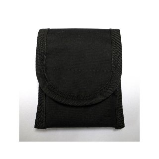 【丈夫なスリーブタイプケース】 GauGau Universal Mobile Pouch Ver. 2.0  Canvas-Nylon Black