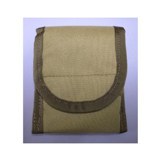 【丈夫なスリーブタイプケース】 GauGau Universal Mobile Pouch Ver. 2.0  Canvas-Nylon Tan