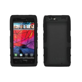 【厚さ2.2mmでグリップ感の高いケース】 SEIDIO au Motorola RAZR IS12M Innocase Active X  Black