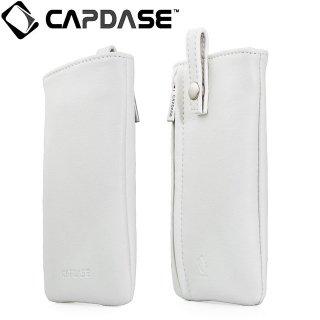 【ループ付きケース】 CAPDASE スマートフォン 汎用ケース Novo Pocket Klassic  White