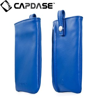 【ループ付きケース】 CAPDASE スマートフォン 汎用ケース Novo Pocket Klassic  Blue
