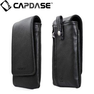 【ループ付きケース】 CAPDASE スマートフォン 汎用ケース Novo Pocket Klassic Flip  Black