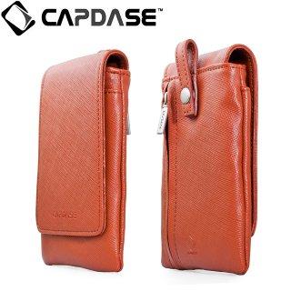 【ネックストラップ付きケース】 CAPDASE スマートフォン 汎用ケース Novo Pocket Crossi Flip