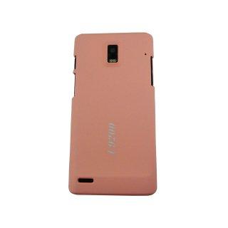 【シンプルなハードケース】 GauGau EMOBILE GS03 Rubberized Hard Rear Cover  Light Pink