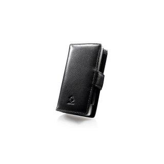 CAPDASE HTC Touch Diamond 2 Bi-fold (横開き) レザーケース (牛革)