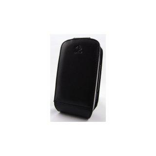 CAPDASE HTC TyTN II/EMOBILE EMONSTER (S11HT) Flip-top (縦開き) レザーケース (牛革) 黒