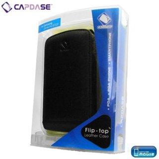 CAPDASE SoftBank X01SC/Samsung OMNIA Pro B7320 Flip Top (たて開き) レザーケース