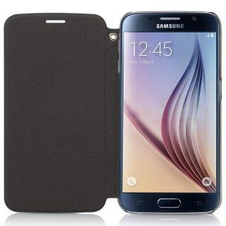 【スリムな手帳型ケース】 ahha Samsung GALAXY S6 SC-05G NORRIS Skinny Flip Case   (ストラップホール  スタンド機能)