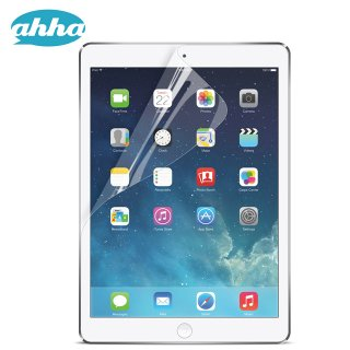 【透明度の高い液晶保護フィルム】 ahha iPad Air 用液晶保護フィルム モンシールド クリスタル・クリアー