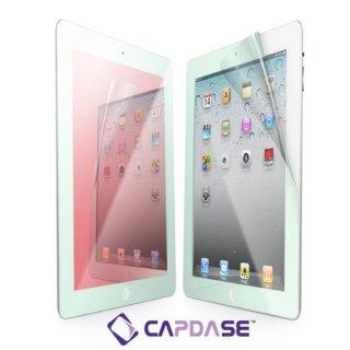 【ミラーになる液晶保護フィルム】 CAPDASE iPad 2〜4世代 ScreenGuard mira Red「レッドミラー」