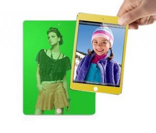【ミラーになる液晶保護フィルム】 CAPDASE iPad mini 3/2/1 ScreenGuard Gold mira  ゴールド