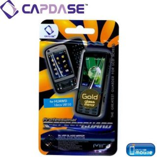 CAPDASE EMOBILE Pocket WiFi S S31HW/日本通信 IDEOS BM-SWU300 ScreenGuard 液晶保護フィルム Gold Mira